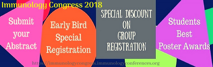 - Immunology Congress 2018