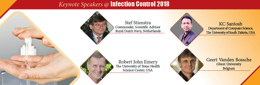 keynote speakers Infection Control & Prevention