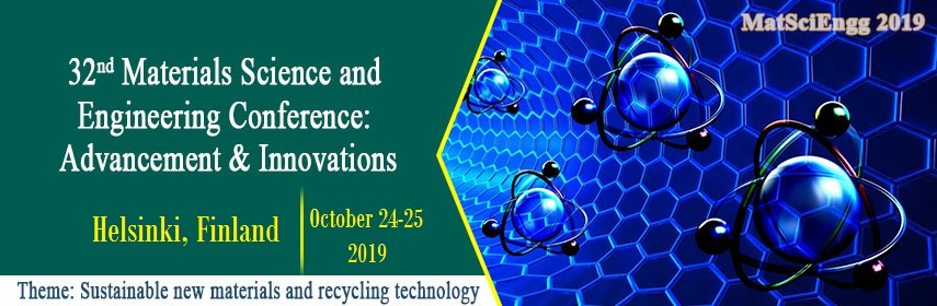 Home page banner of 32nd Materials Science and Engineering Conference: Advancement & Innovations - MatSciEngg 2019