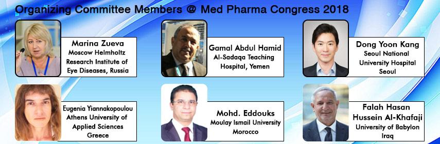 - Med Pharma Congress 2018