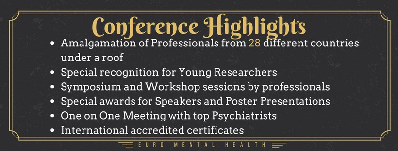 Top Mental Health Conferences | Mental Health | Psychiatry