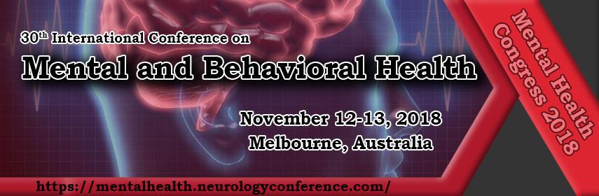 Mental and Behavioral Health - Mental Health Congress 2018