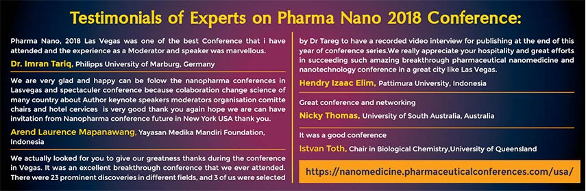 - Nano Pharmaceuticals 2019