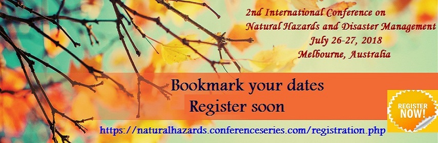 - Naturalhazards Congress-2018