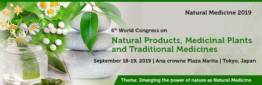Natural Medicine 2019 | Natural Products Conferences