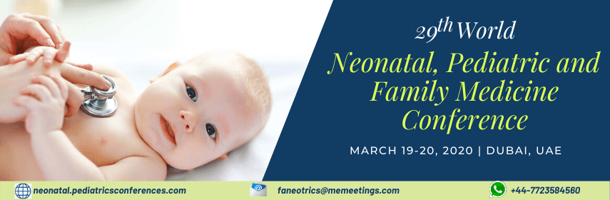 Faneotrics 2020 Conference | Pediatrics Event | Neotalogy Meetings | Dubai | Home Page Banner