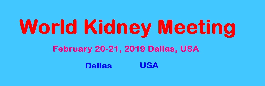 Nephrology Conference 2019 | Kidney Meetings | Dialysis Congress