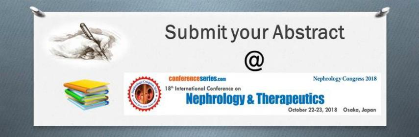 - Nephrology Congress 2018