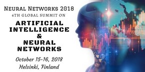 6th Global Summit on Artificial Intelligence and Neural Networks , Helsinki,Finland