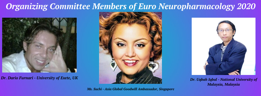 - Euro Neuropharmacology 2020