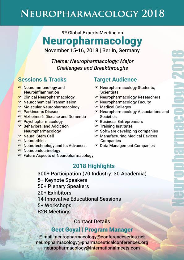 Neuropharmacology Conferences | CME Conferences