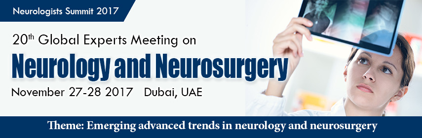 Conference Series LLC invites all the participants from all over the worlds to attend our upcoming 2 - Neurologists Summit 2017
