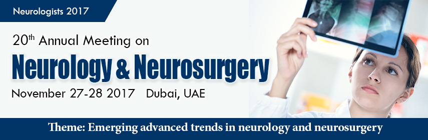 Conference Series LLC invites all the participants from all over the worlds to attend our upcoming 2 - Neurologists-2017
