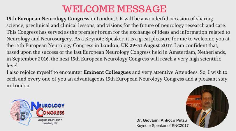 Neurology | Neurology Conference | Neurosurgery Conference