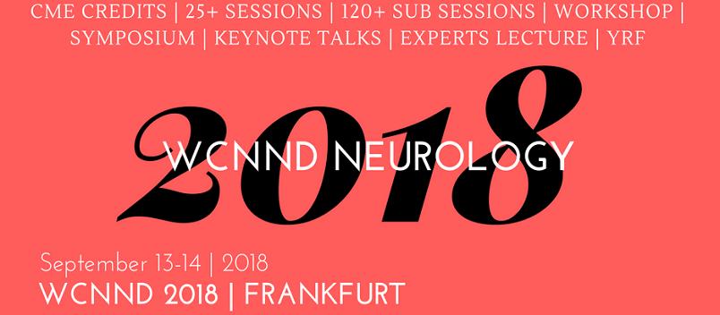 - Neurology Conference 2018