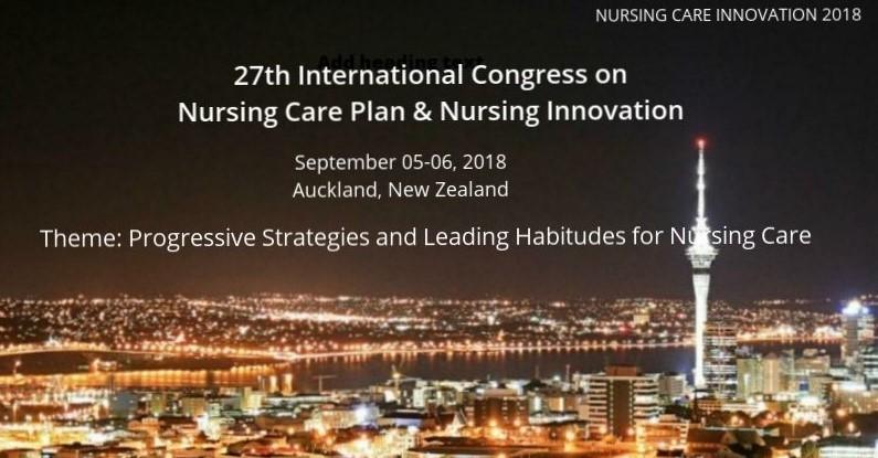 - Nursing Care Innovation 2018