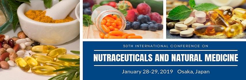 Natural Medicine Conferences - Nutraceuticals Conference 2019