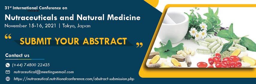 Neutraceuticals - Nutraceuticals Conference 2021