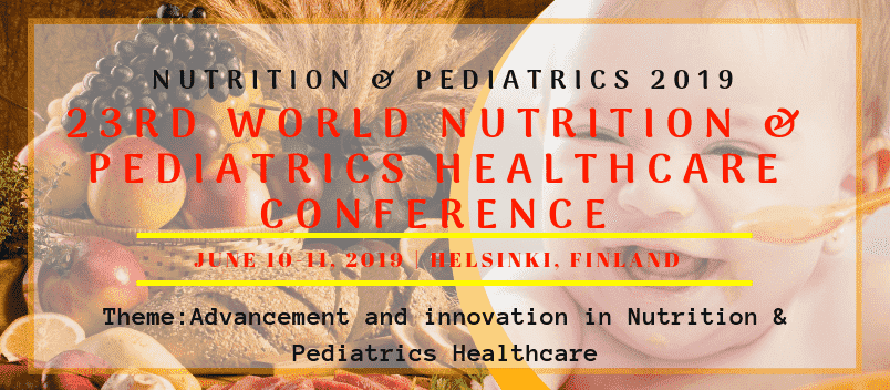 Home Page Banner of 23rd Nutrition and Pediatrics, Healthcare Events and Neonatal Congress - Nutrition & Pediatrics 2019