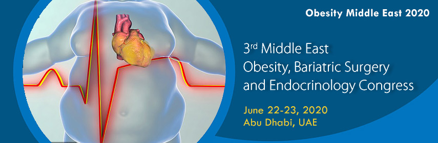 Home page Banner of 3rd Middle East Obesity, Bariatric Surgery and Endocrinology Congress - Obesity Middleeast 2020