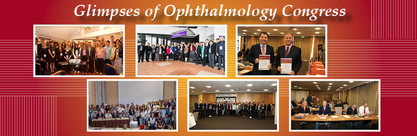 Euro Ophthalmology Congress 2018 - Ophthalmology Meeting 2018