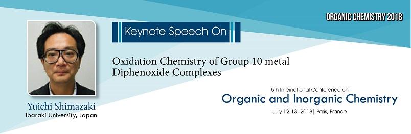 - Organic and Inorganic Chemistry 2018