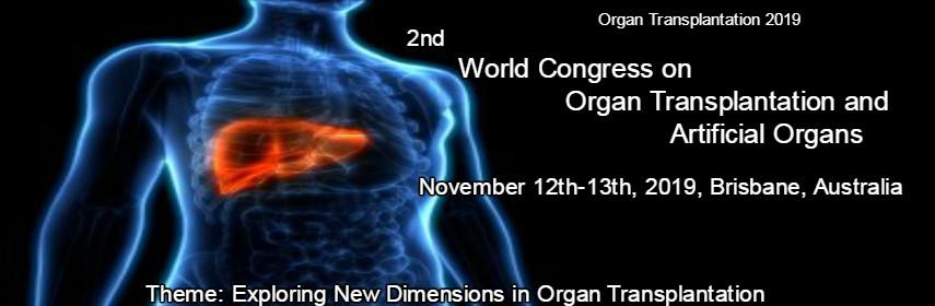 - Organ transplantation 2019