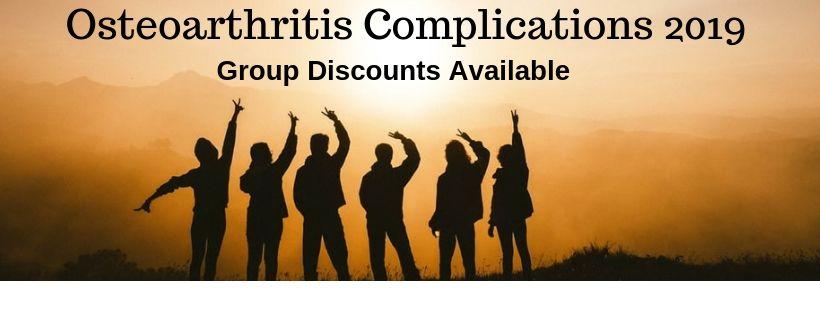 - Osteoarthritis complications 2019