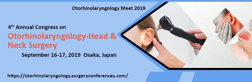 - Otorhinolaryngology Meet 2019
