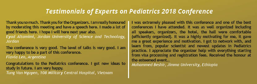 - Pediatric Immunology 2019