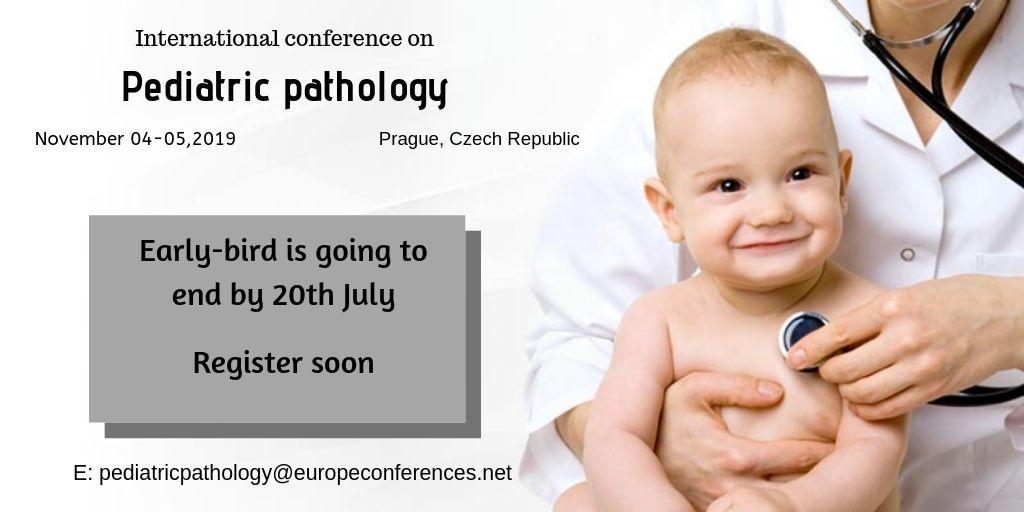 Top Pediatric Pathology Conference 2019| Europe | Czech Republic | CME