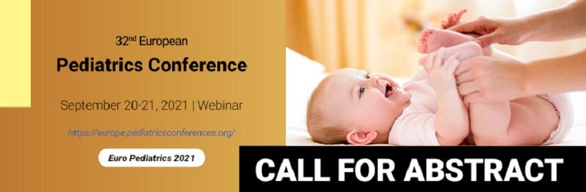 - Euro Pediatrics-2021