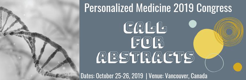 - Personalized Medicine 2019