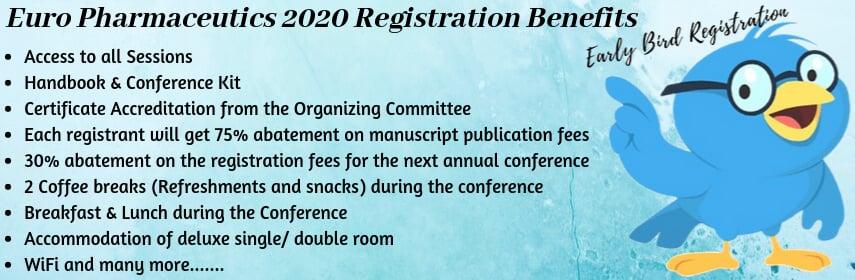 - Euro Pharmaceutics 2020