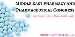 Middle East Pharmacy and Pharmaceutical Conference, Abu Dhabi, UAE