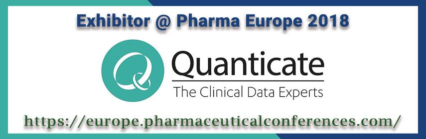 - Pharma Europe 2018