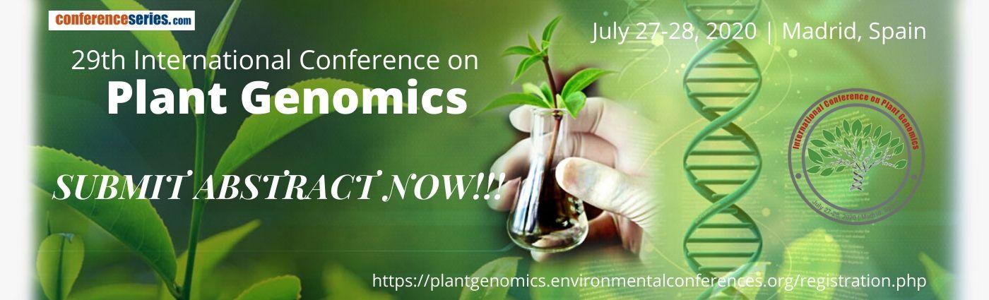 - Plant Genomics 2020