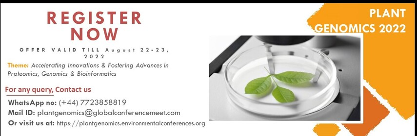 - Plant Genomics 2022