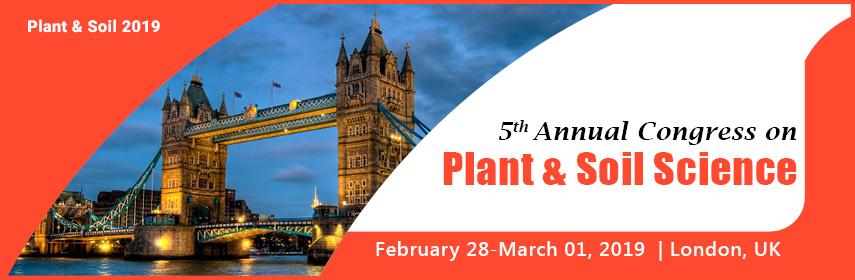 - Plant & Soil 2019