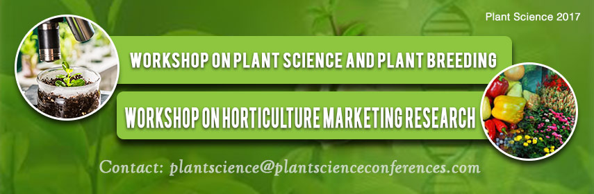 - Plant Science 2017