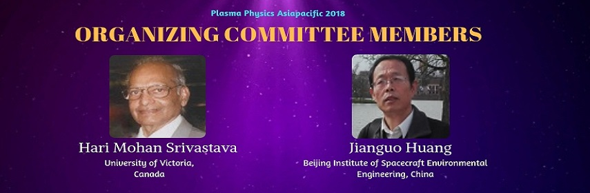 - Plasma Physics Asiapacific 2018