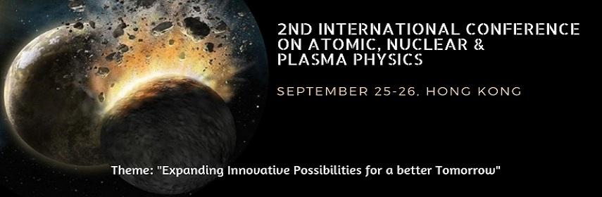 - Plasmaphysics Asiapacific 2019