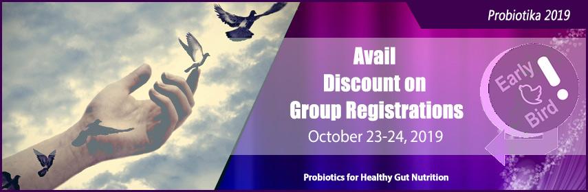 Probiotika 2019 | Prebiotics Meetings | Microbiome