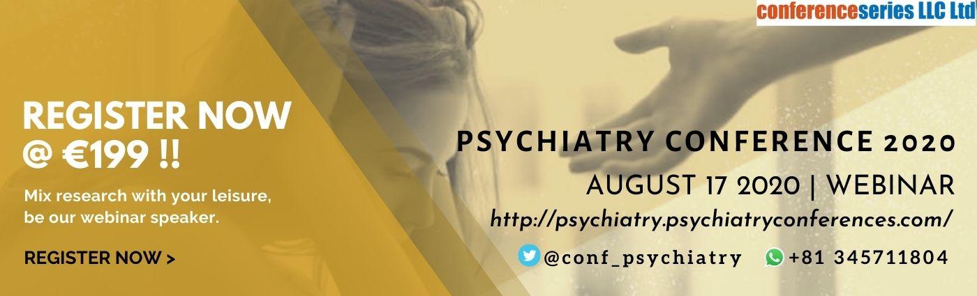 Psychiatry Webinar 2020 - PSYCHIATRY CONFERENCE 2020
