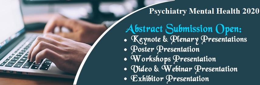 - Psychiatry Mental health 2020