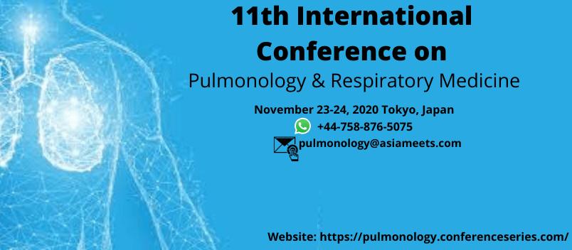 World Pulmonology 2020 - World Pulmonology 2020