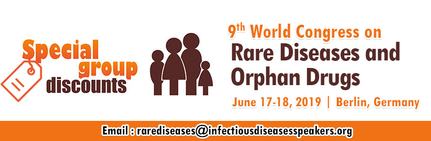 - Rare Diseases Congress- 2019