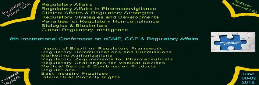 - Regulatory Affairs 2018