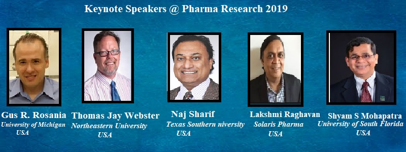 - Pharma Research 2019