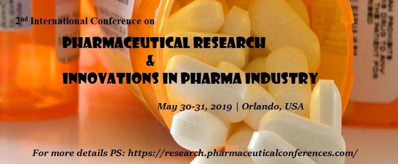 2nd International Conference on Pharmaceutical Research & Innovations in Pharma Industry, Orlando, USA